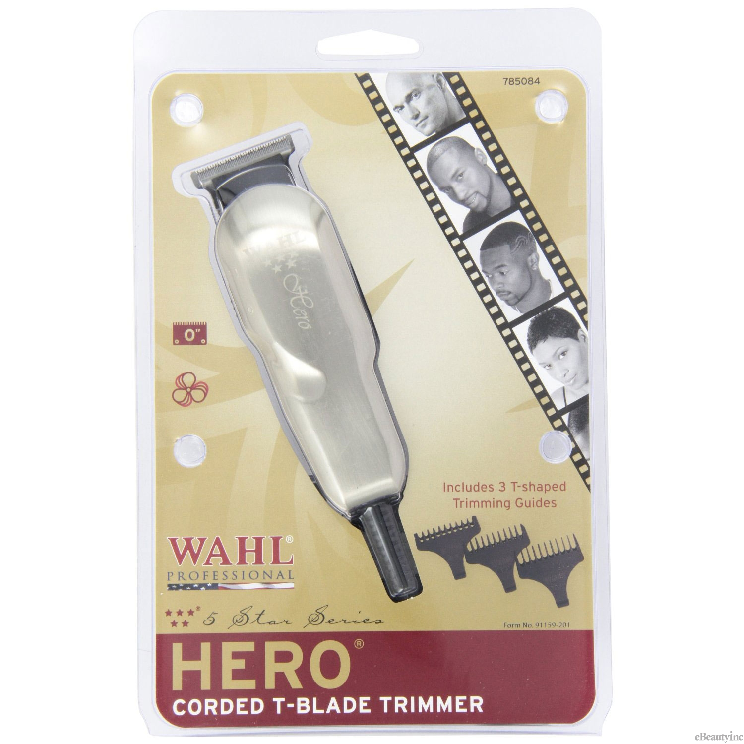 Image of Wahl 5 Star Hero Corded T-Blade Trimmer #8991