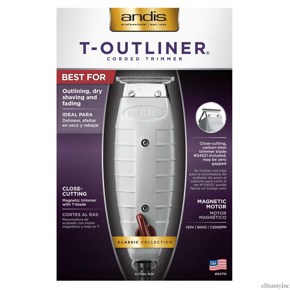 Image of Andis T-Outliner Hair Trimmer #04710