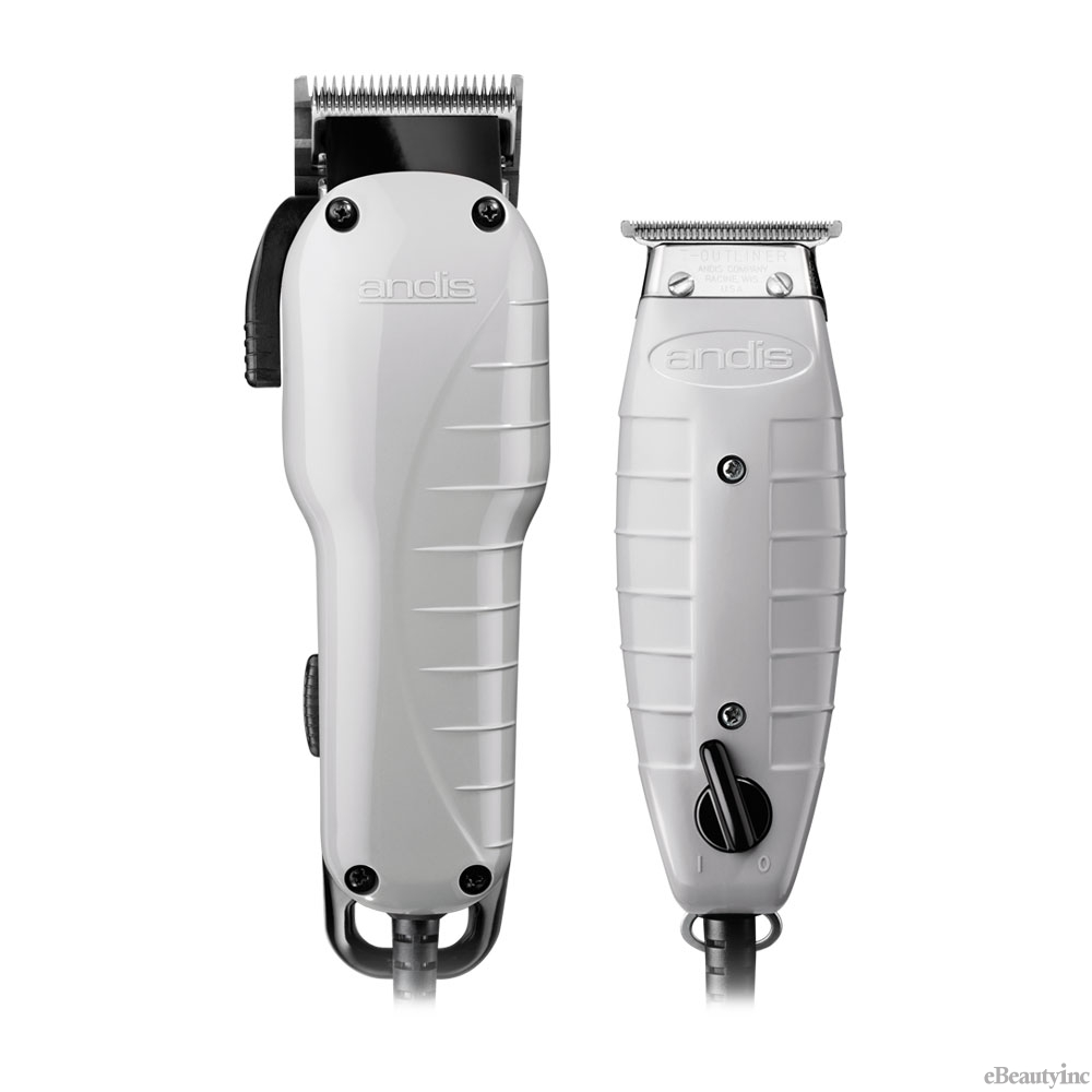 Andis Barber Combo Clipper/Trimmer Kit #66325 - Hair ...