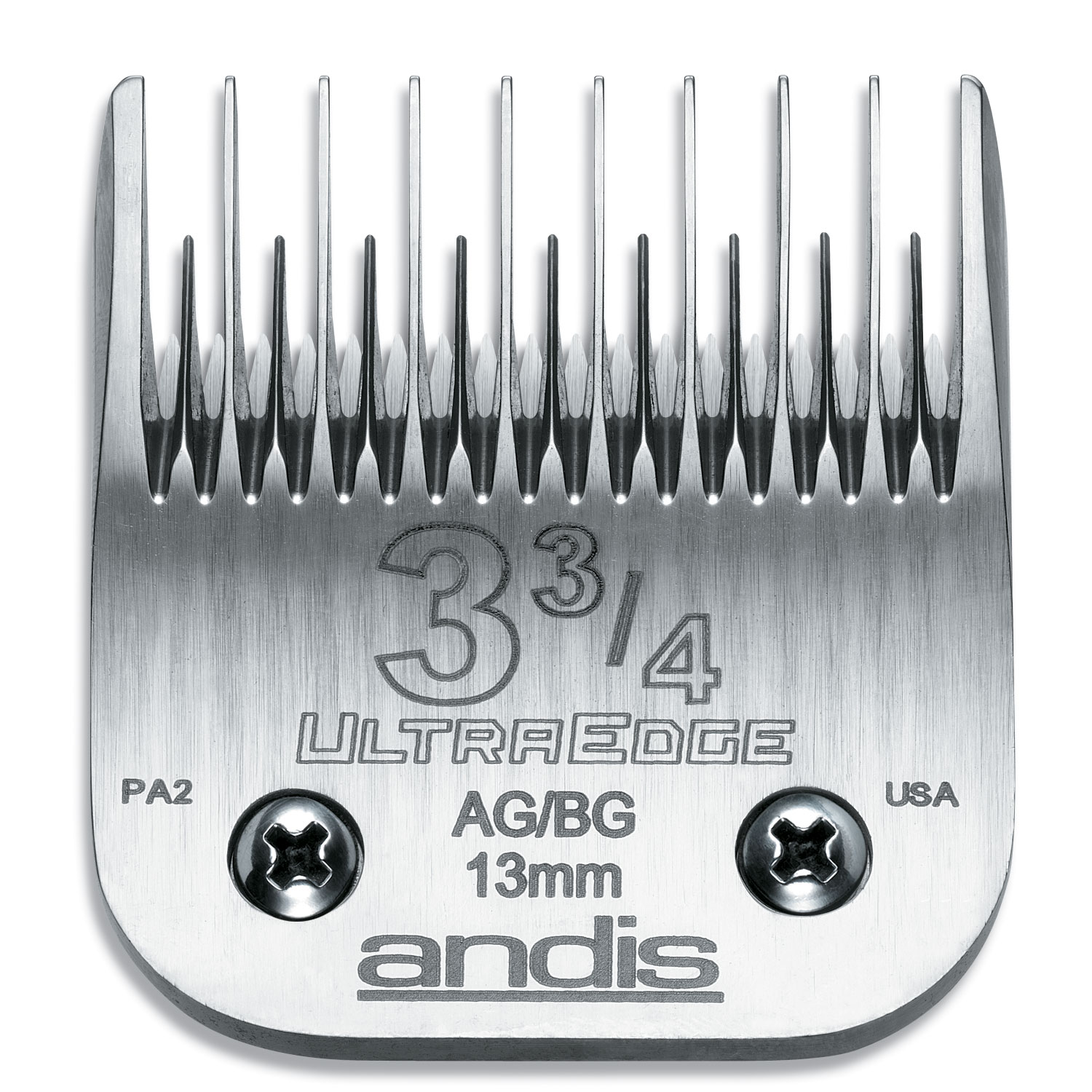 Image of Andis UltraEdge Detachable Clipper Blade #3-3/4 Fit Oster 76 A5 - 64133