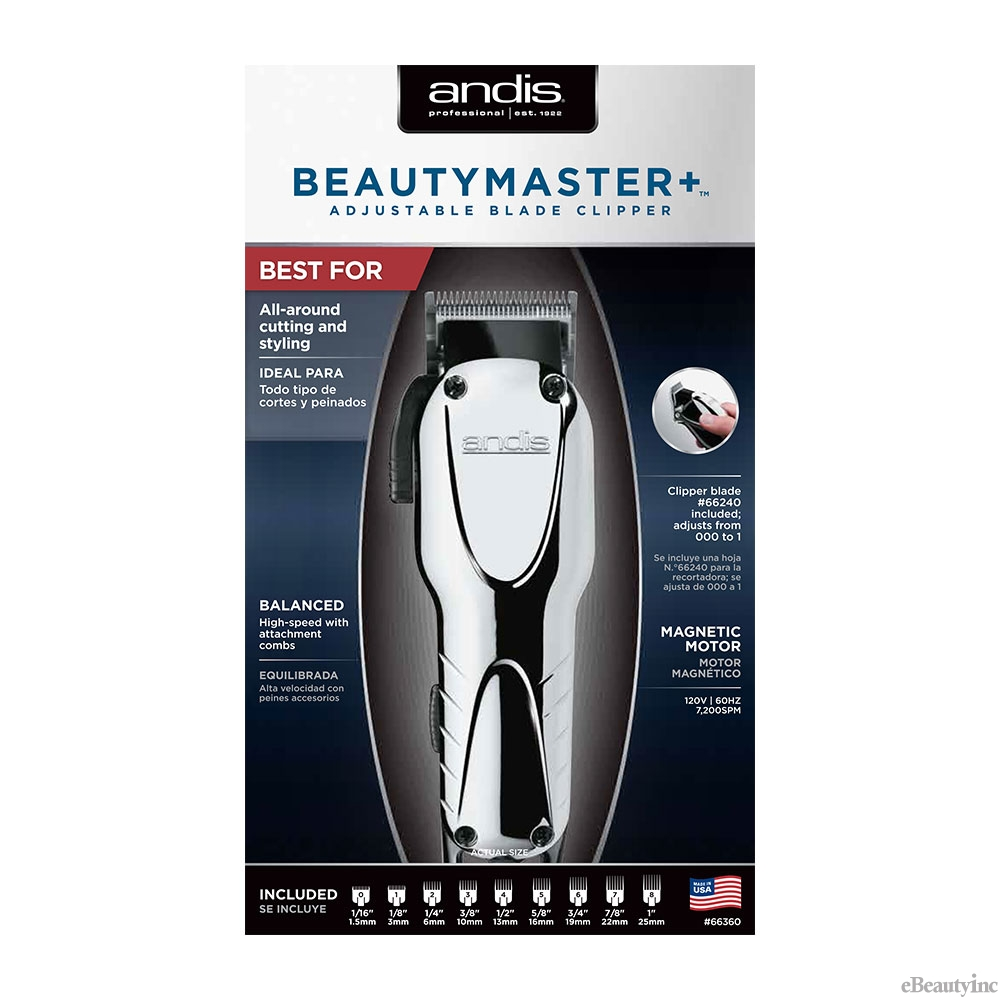 Image of Andis Beauty Master + Adjustable Blade Clipper #66360