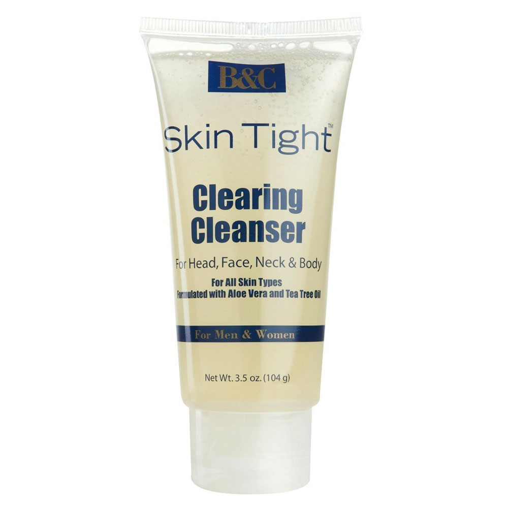 Image of B&C Skin Tight Clearing Cleanser With Aloe Vera & Tea Tree Oil - 3.5oz