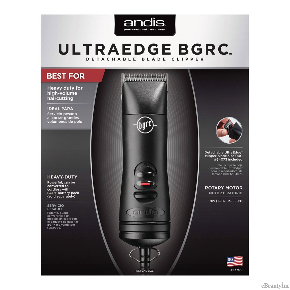 Image of Andis UltraEdge BGRC Hair Clipper #63700