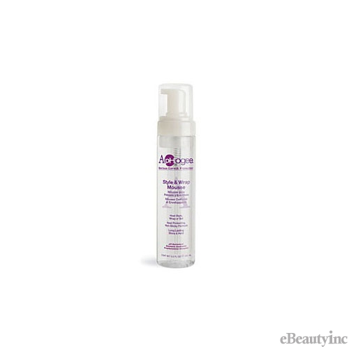 Image of Aphogee Style & Wrap Mousse - 8.5oz