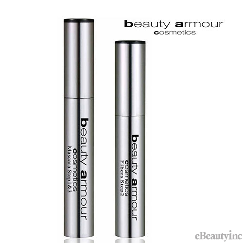 Image of Beauty Armour Cosmetics Fiber Mascara 3 Step System