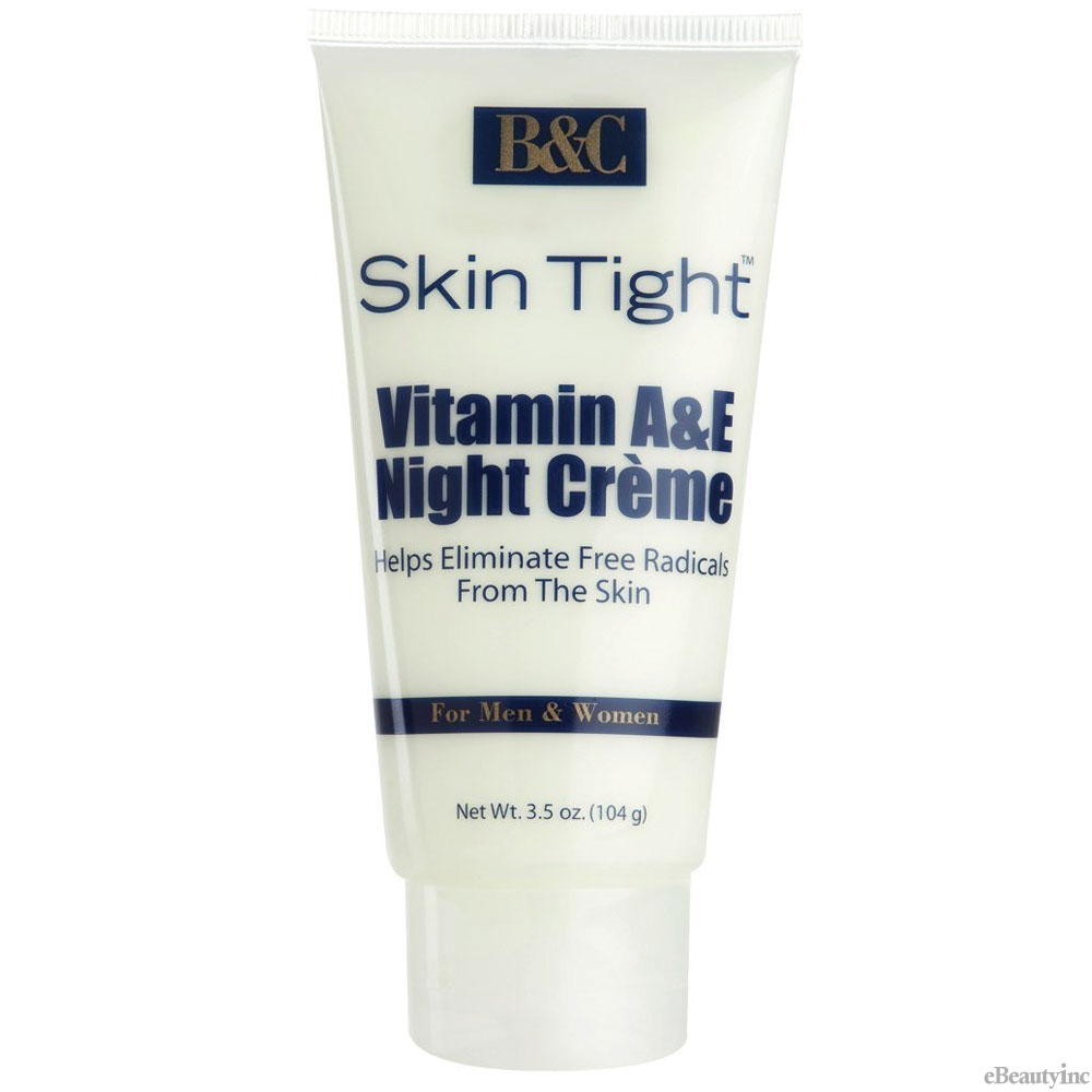 Image of B&C Skin Tight Vitamin A & E Night Creme - 3.5oz