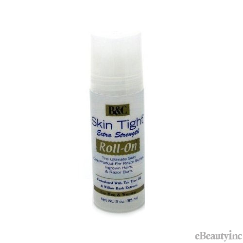 Image of B&C Skin Tight Roll On Extra Strength Formula for ingrown hair or razor bumps - 3oz