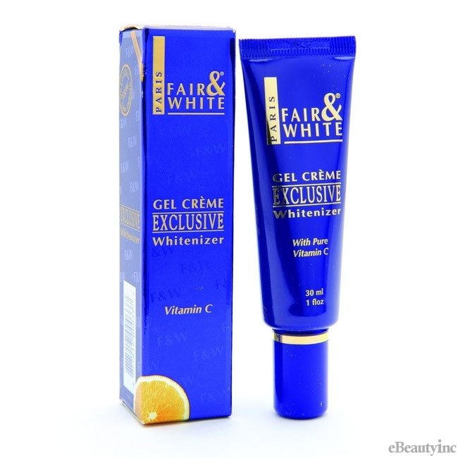 "Image of Fair and White Exclusive Gel Cream with Vitamin ""C"" 30 ml"