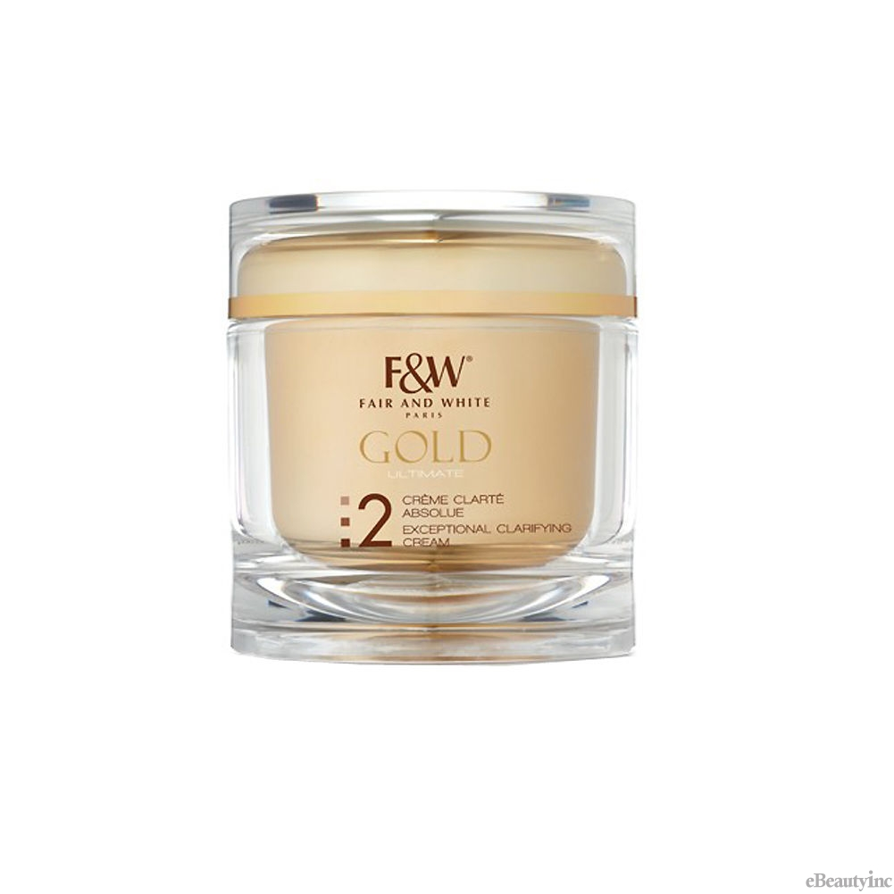Image of Fair and White Gold Ultimate Even Tone Exceptional Clarifying Cream - 6.76oz