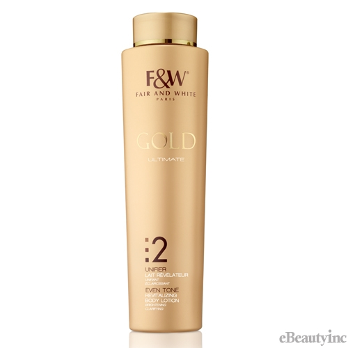 Fair and White Gold Revitalizing Body Lotion 500ml/17.6fl.Oz