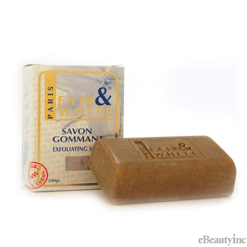 Fair and White Exfoliating Lightening Skin Soap - 7oz