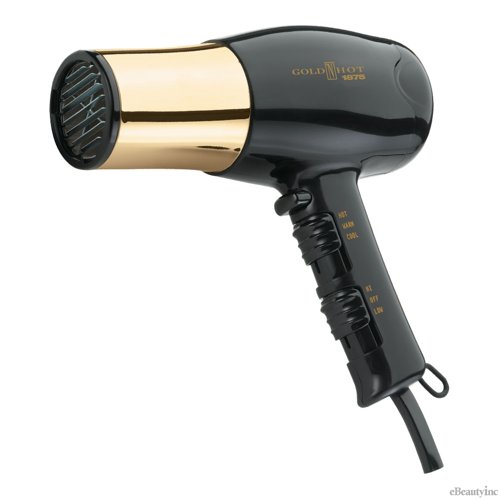 Image of Gold N Hot 1875W Euro Hair Dryer #GH8135