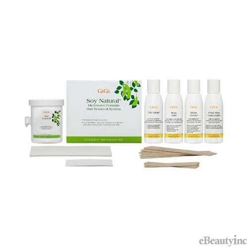 GiGi Soy Natural Microwave Kit