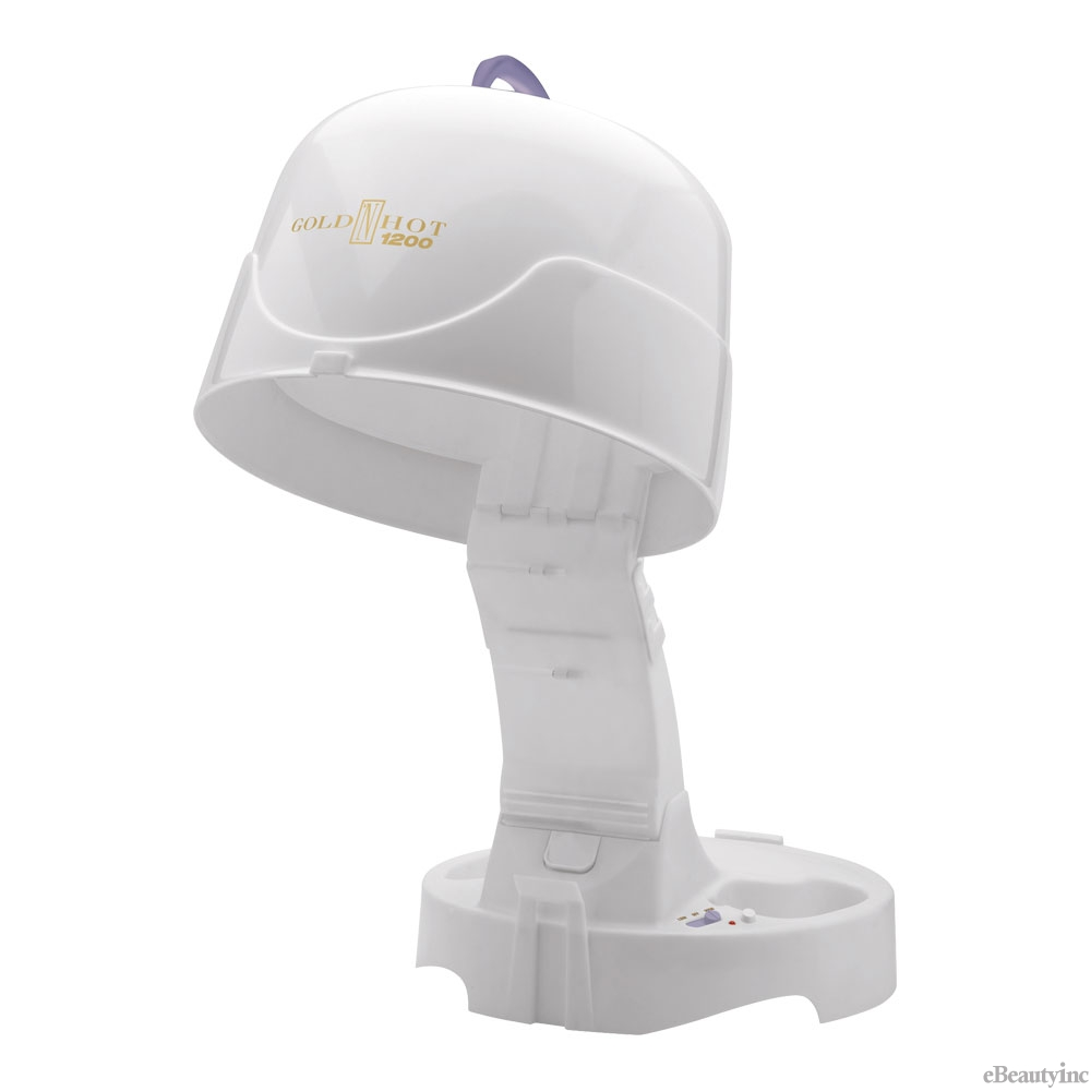 Image of Gold N Hot 1200-Watt Hard Bonnet / Hooded Hair Dryer #GH9271