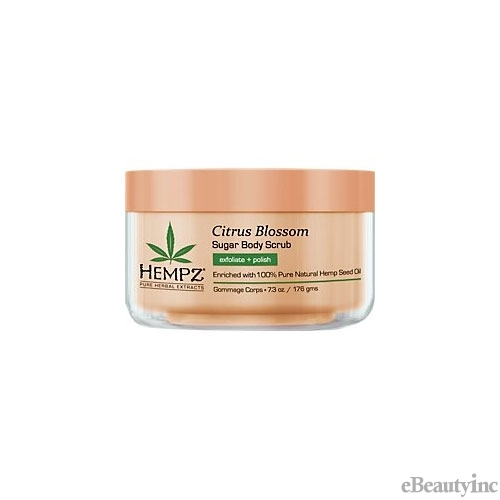 Hempz Citrus Blossom Sugar Body Scrub - 7.3oz