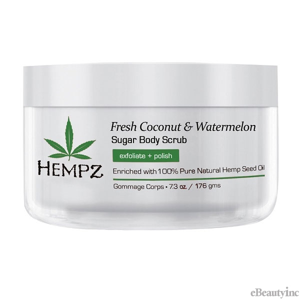 Hempz Fresh Coconut & Watermelon Sugar Body Scrub - 7.3oz