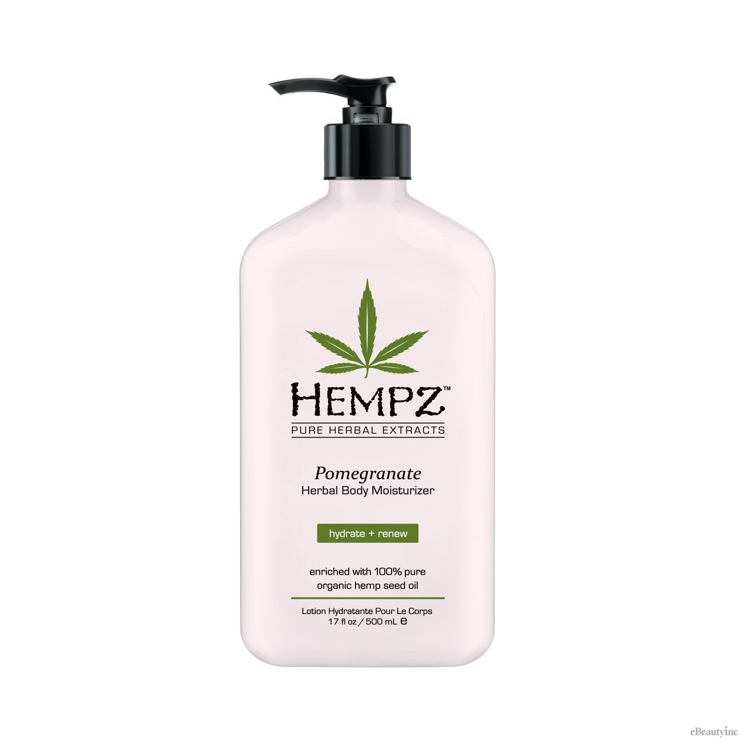 Hempz Pomegranate Herbal Body Moisturizer Lotion - 17oz