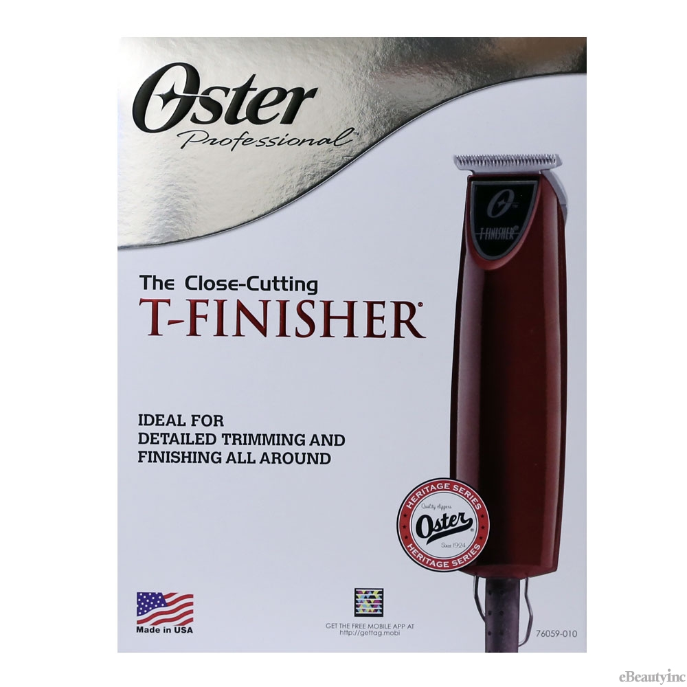 Image of Oster T-Finisher beards Mustaches Sideburns Neck line Hair Trimmer #76059-010