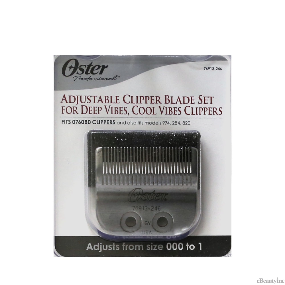 Image of Oster Adjustable Blade Size 000-1 Fits Cool Vibes & Deep Vibes Clippers