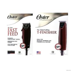 Oster Fast Feed Clipper + T-Finisher Trimmer Set