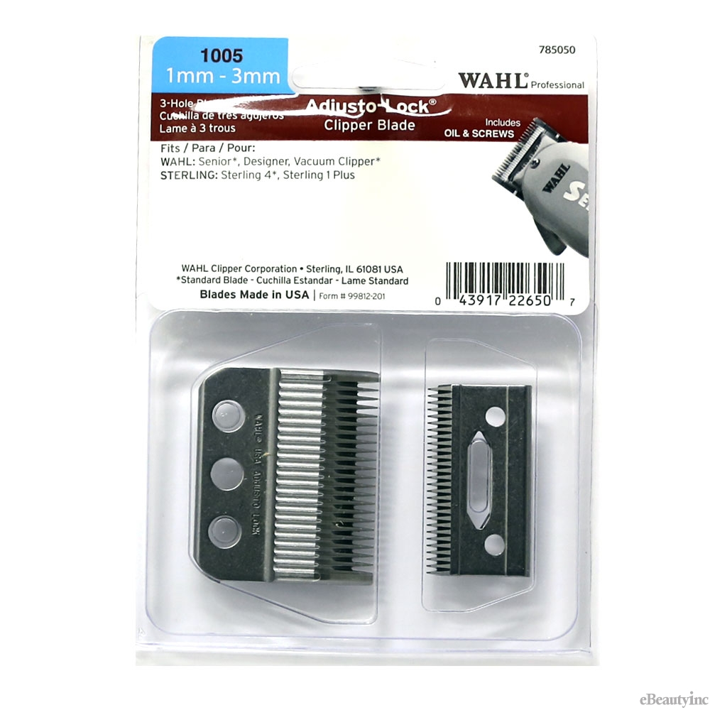 Image of Wahl 3-Hole Replacement Blade For Designer Senior #1005