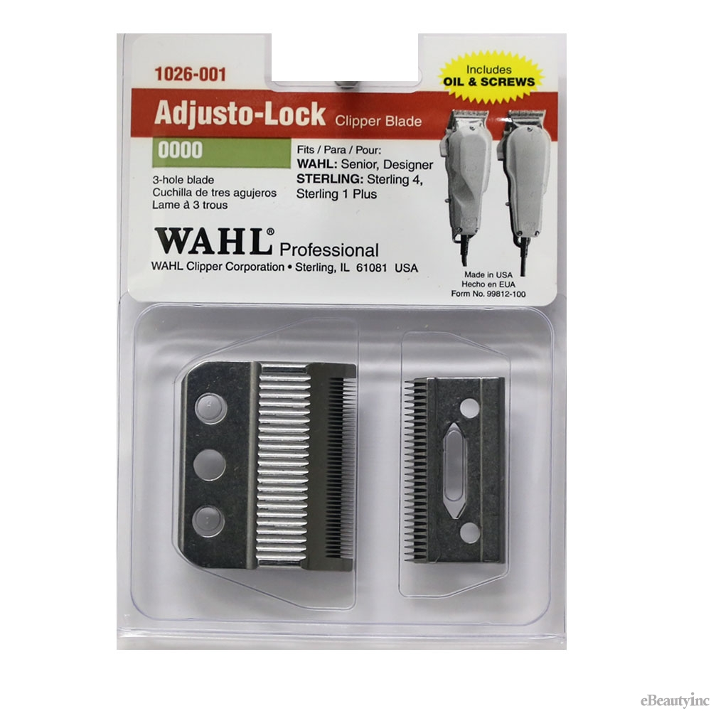 Image of Wahl 3-Hole Replacement Blade for Designer Senior Clipper #1026-001