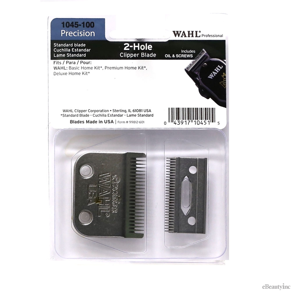 Image of Wahl 2 Hole Replacement Blade for Home Kits/Taper Clipper #1045-100