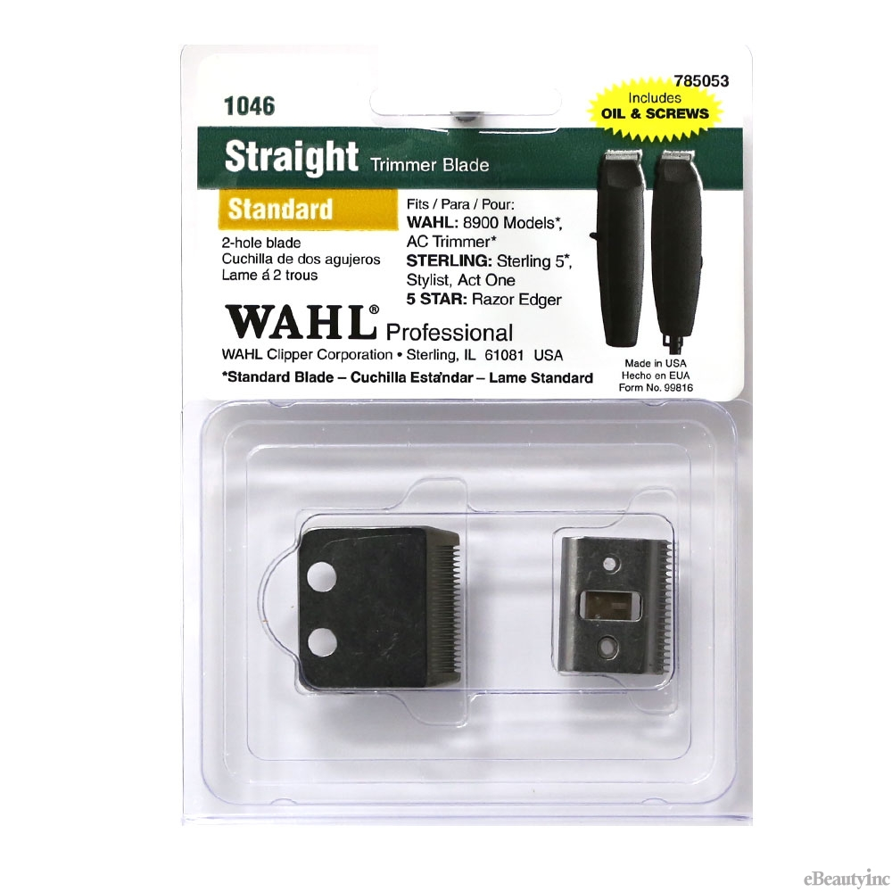 Image of Wahl 2 Hole Replacement Blade for AC & Razor Edger Trimmer #1046