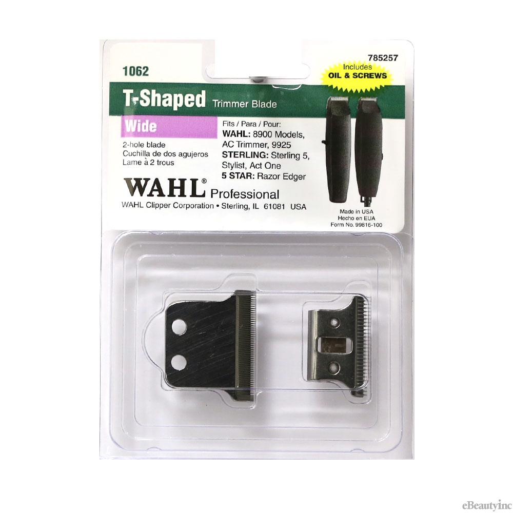 Image of Wahl 2-Hole Wide Replacement Blade for AC Razor Edger Trimmer #1062