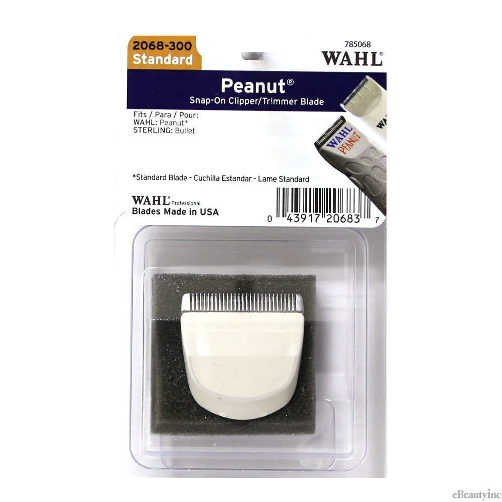 Image of Wahl Peanut Clipper/Trimmer White Replacement Blade #2068-300