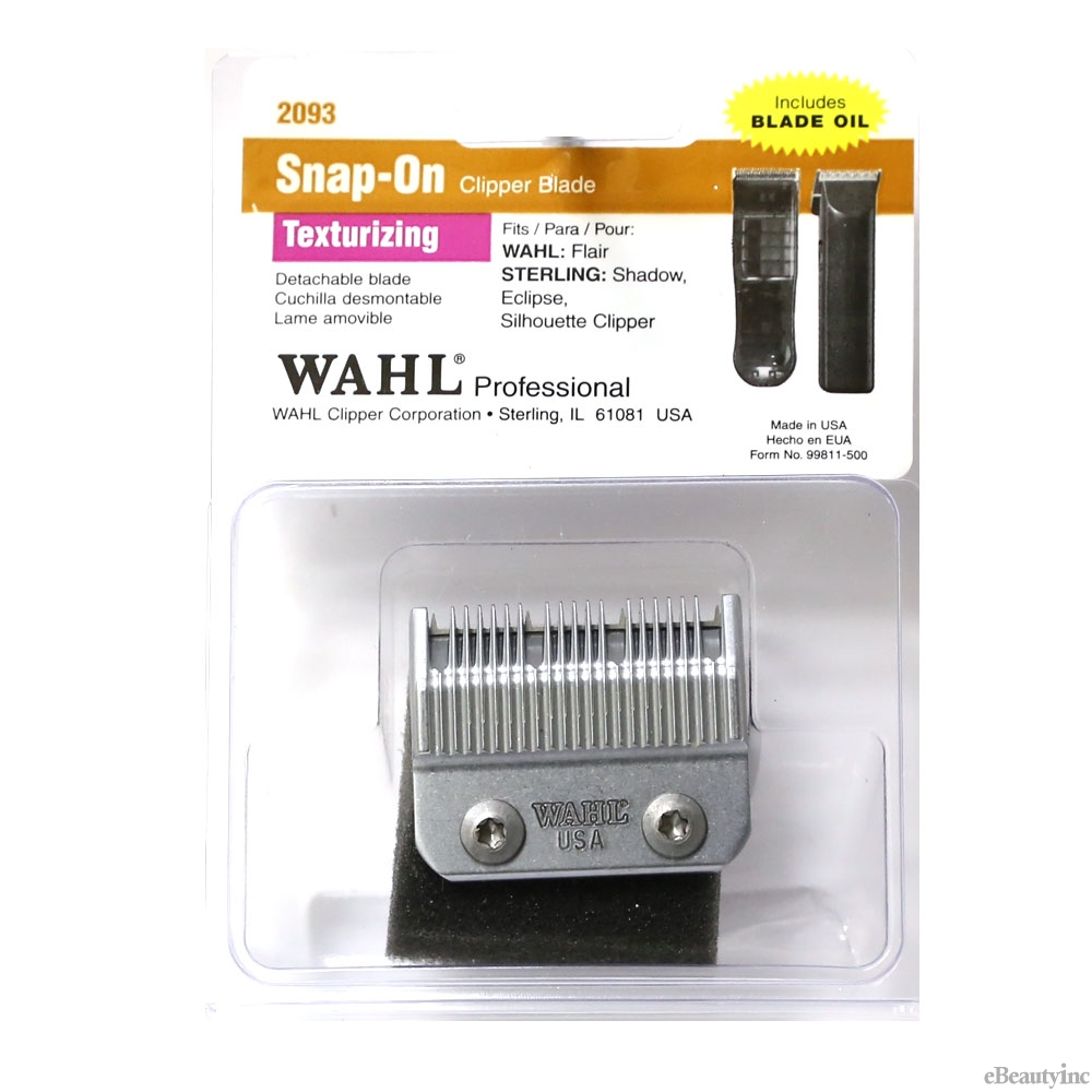 Image of Wahl Replacement Snap-On Blade Texturizing for Eclipse Clipper #2093