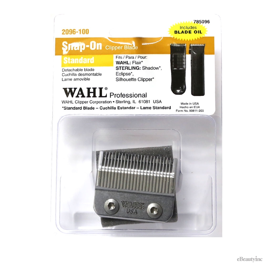 Image of Wahl Snap-On Standard Replacement Blade for Eclipse Clipper #2096-100