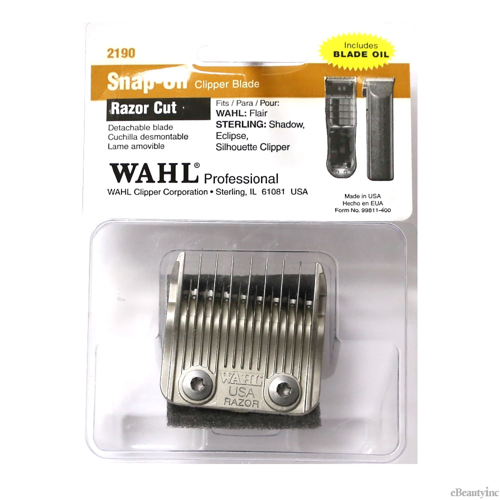 Image of Wahl Snap-On Razor Cut Replacement Blade for Eclipse Clipper #2190