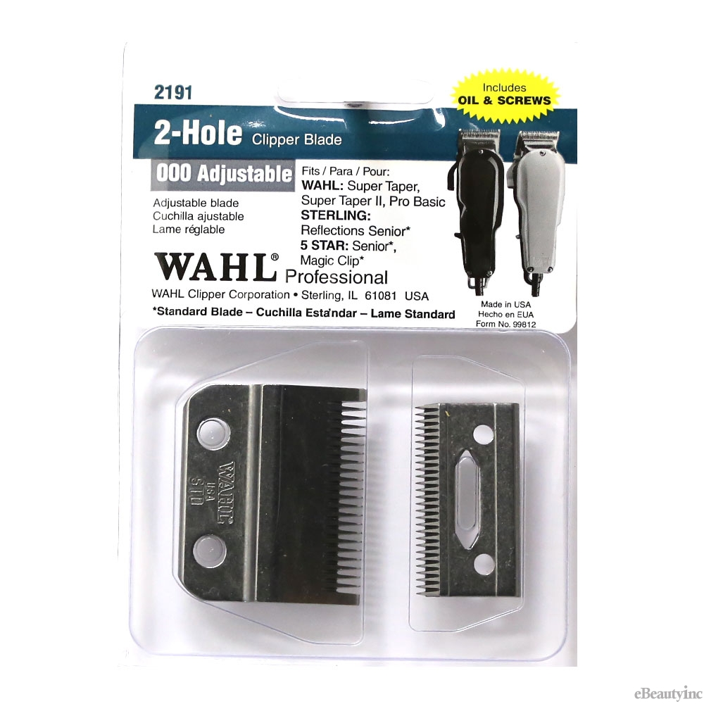 Image of Wahl Replacement Blade 2 Hole for 5-Star Senior Magic Super Taper Clipper#2191