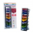 Wahl Clipper Color Attachment Comb 8 Pack With Organizer #3170-400