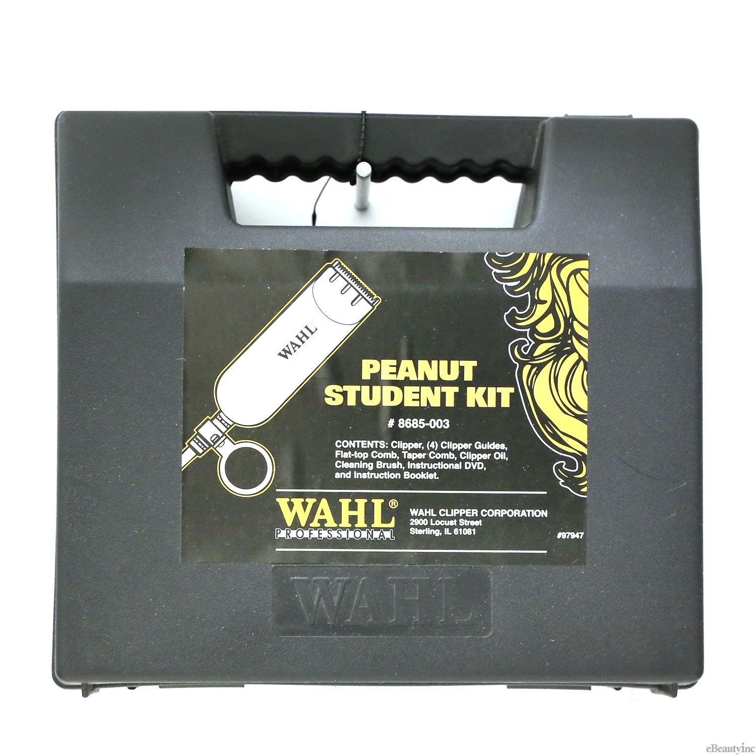 Wahl Peanut Student Trimmer Kit with DVD #8685-003