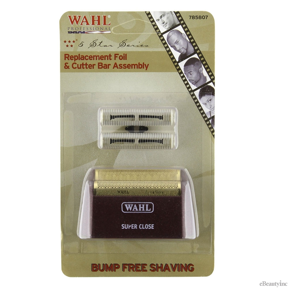 Image of Wahl 5-Star Shaver Replacement Foil Head / Cutter Bar (Foil Head: #7031-100)