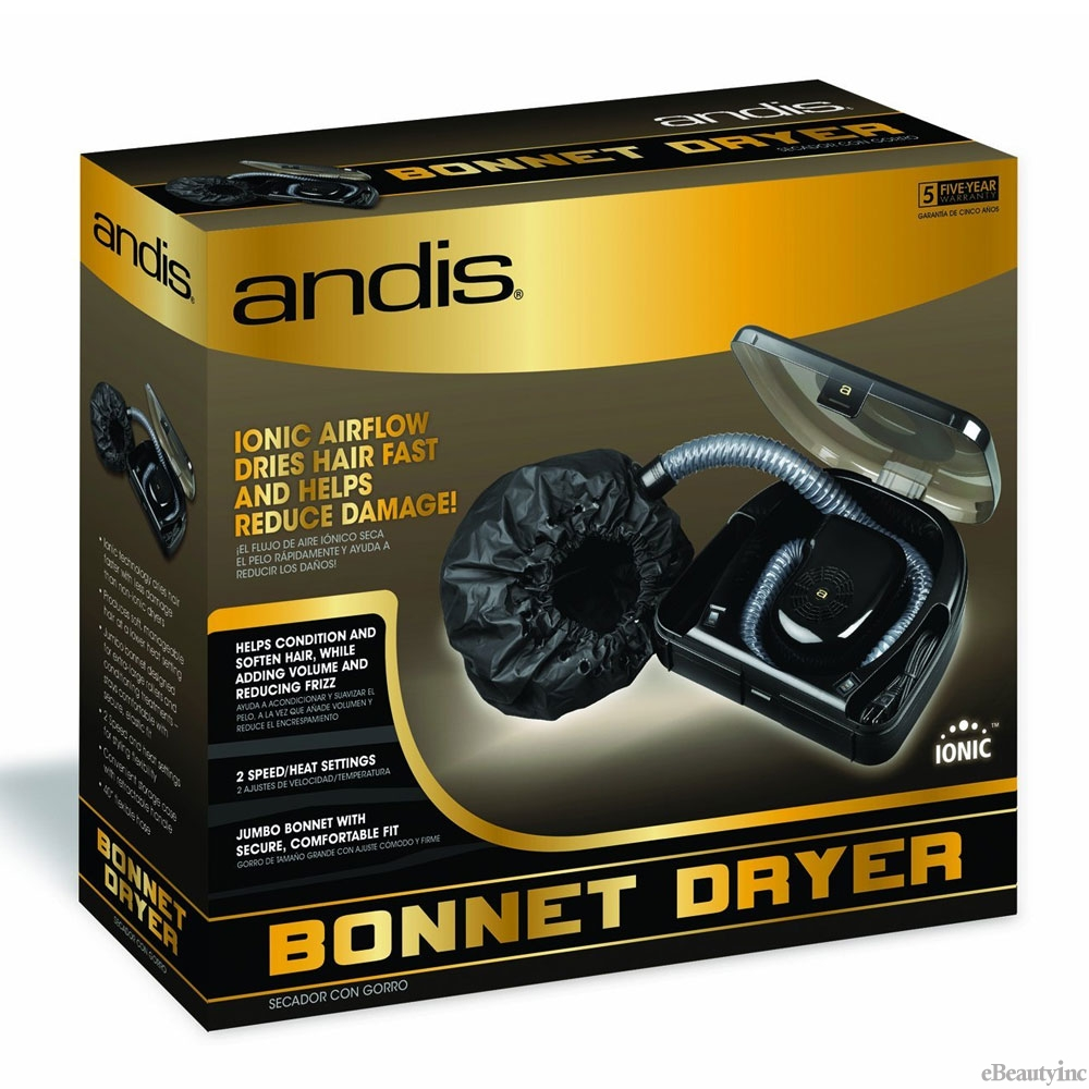 Image of Andis Professional Ionic Bonnet Hair Dryer #80610