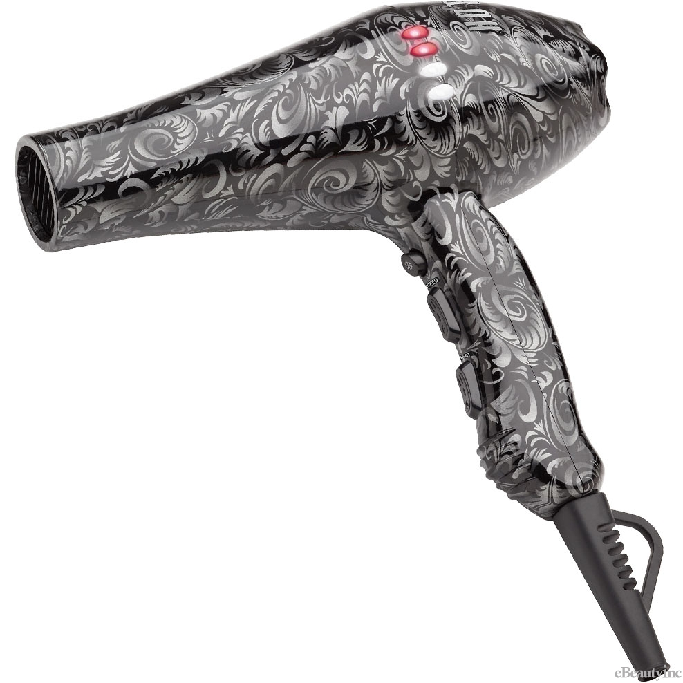 Image of Hot Tools Silver Lining Turbo Ionic Salon Hair Dryer #HT7008SD