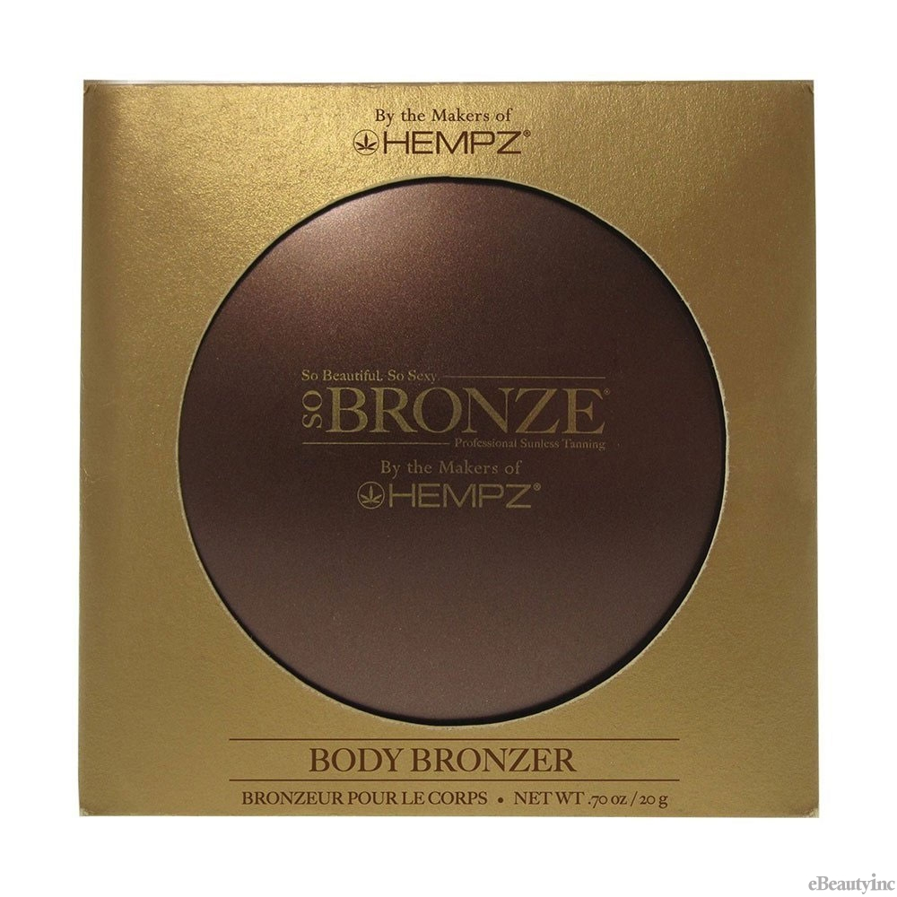 Image of Hempz So Bronze Body Bronzer .70 oz/ 20g