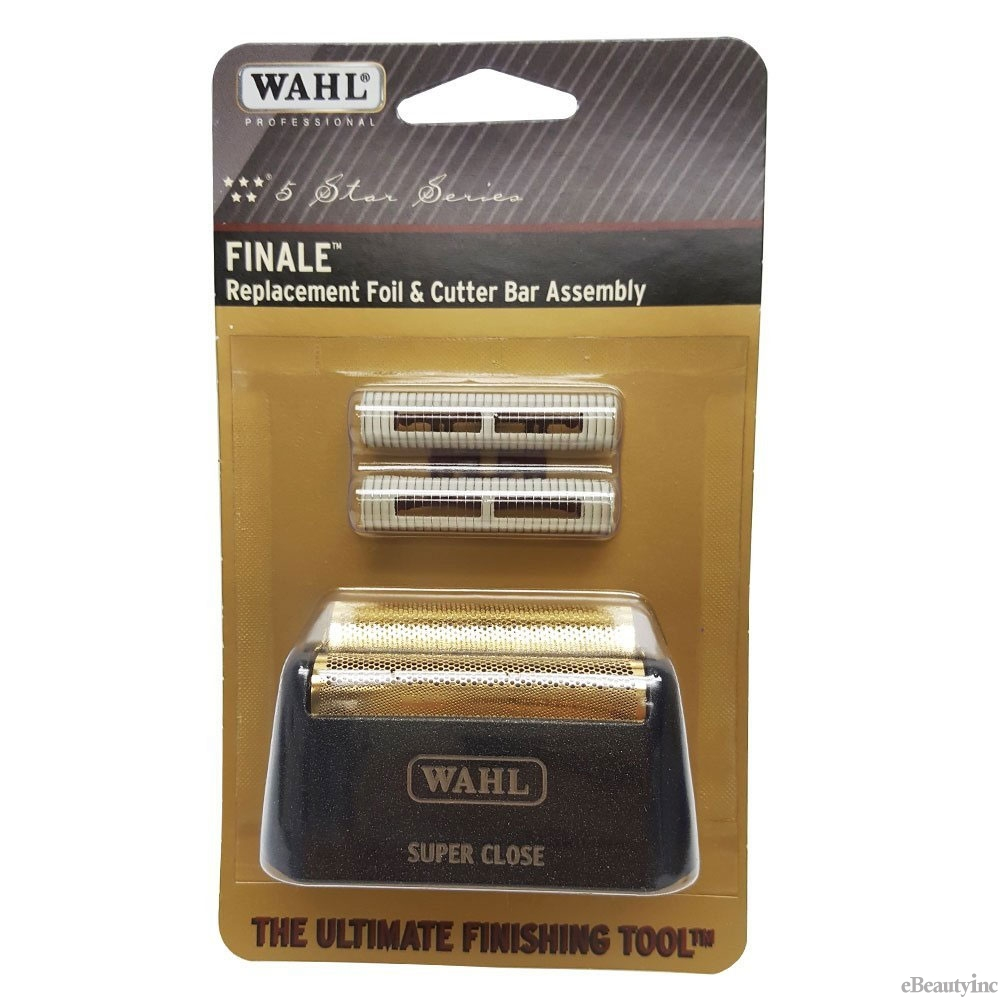 wahl finale replacement foil cutter bar assembly 7043 electric shavers. Black Bedroom Furniture Sets. Home Design Ideas