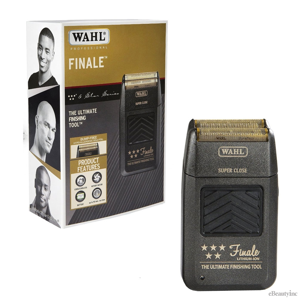 Image of Wahl Professional 5-Star Finale Shaver-bump Shaving Black #8164