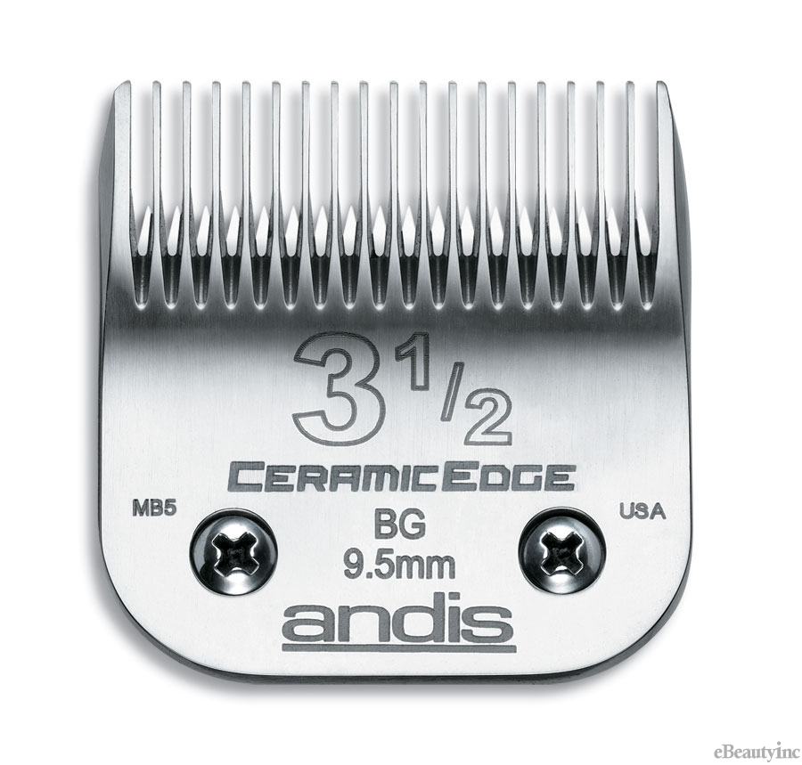 Andis Ceramic Edge Clipper Blade #3-1/2 Fit Oster 76 A5 - 63040
