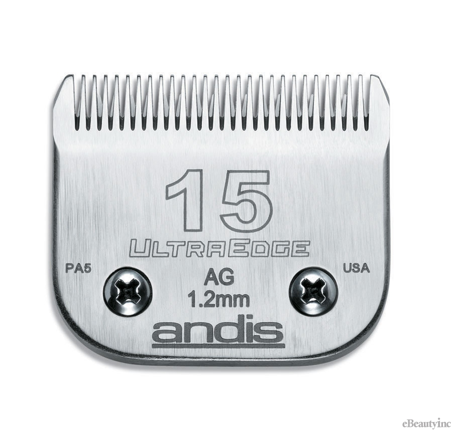 Image of Andis UltraEdge Detachable Clipper Blade #15 Fit Oster 76 A5 - 64072