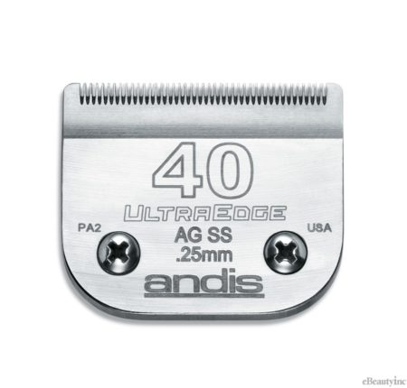 Andis UltraEdge Detachable Clipper Blade #40SS Fit Oster 76 A5 - 64084