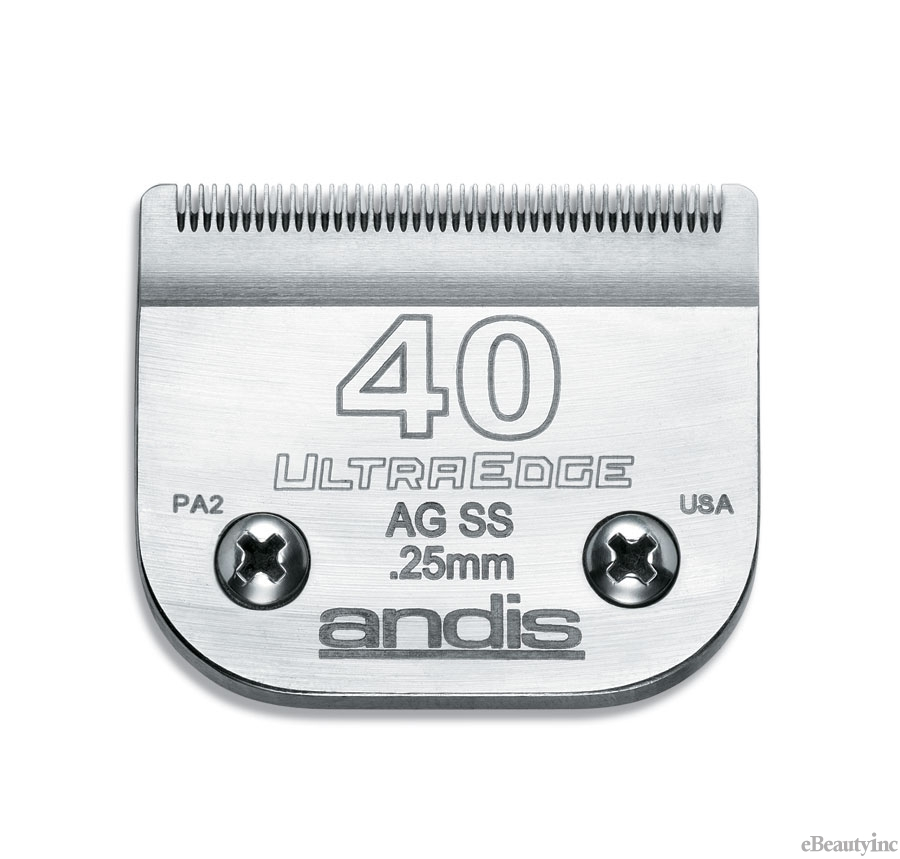 Image of Andis UltraEdge Detachable Clipper Blade #40SS Fit Oster 76 A5 - 64084