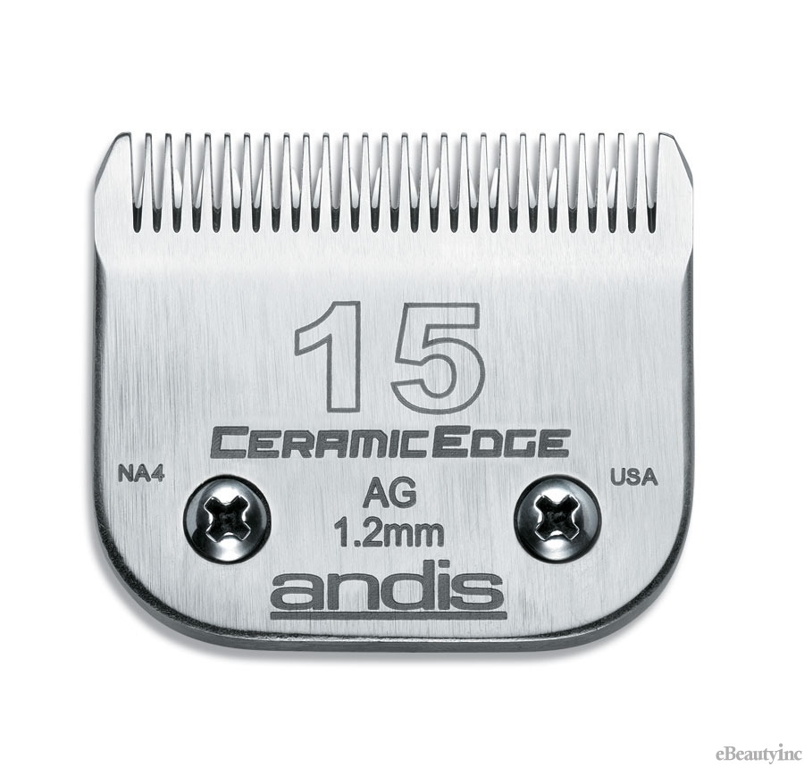 Andis Ceramic Edge Clipper Blade #15 Fit Oster 76 A5 - 64255