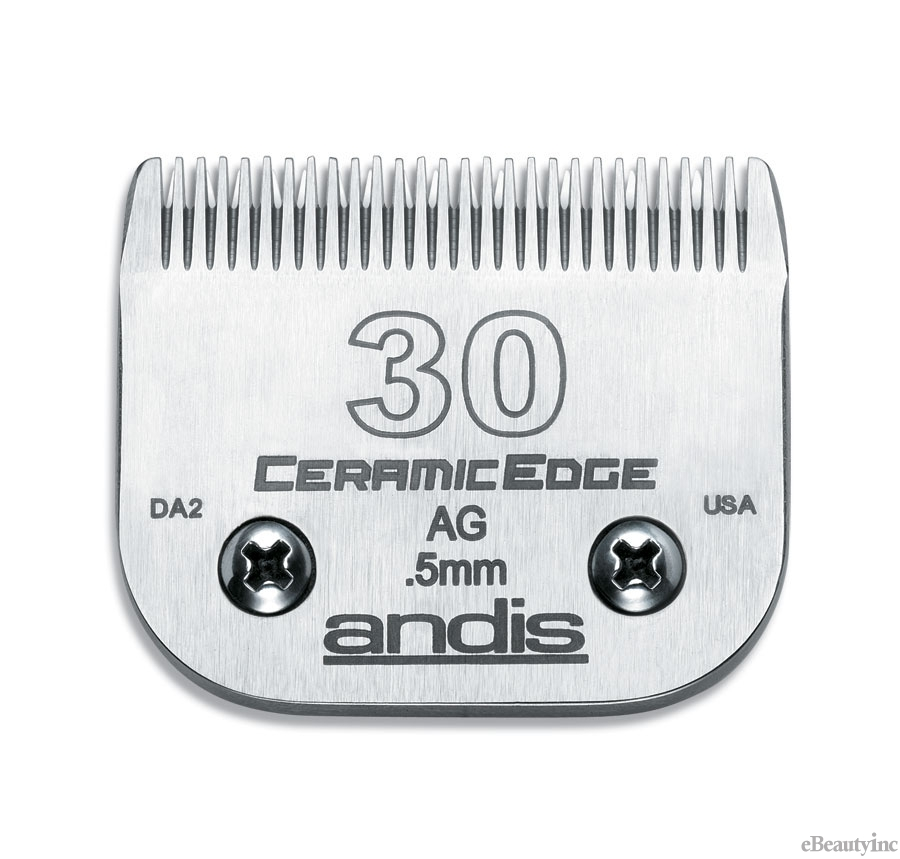 Andis Ceramic Edge Clipper Blade #30 Fit Oster 76 A5 - 64260