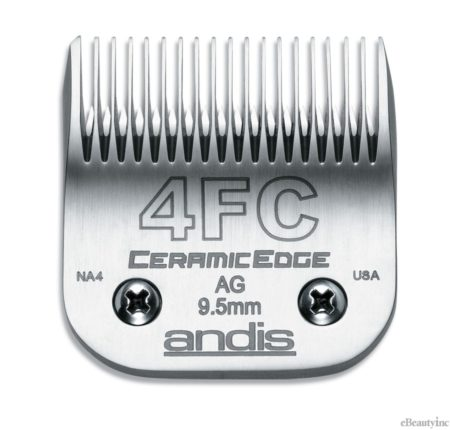 Andis Ceramic Edge Clipper Blade #4FC Fit Oster 76 A5 - 64295