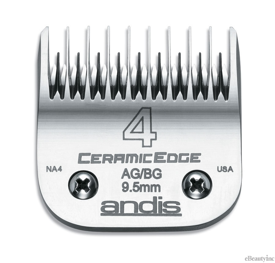 Image of Andis CeramicEdge Clipper Blade #4 Fit Oster 76 A5 - 64305